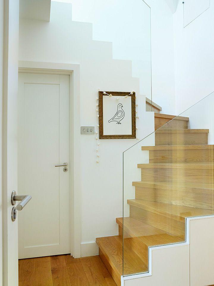 Les 25 meilleures id es concernant garde corps en verre sur pinterest rampe - Escalier sans garde corps ...