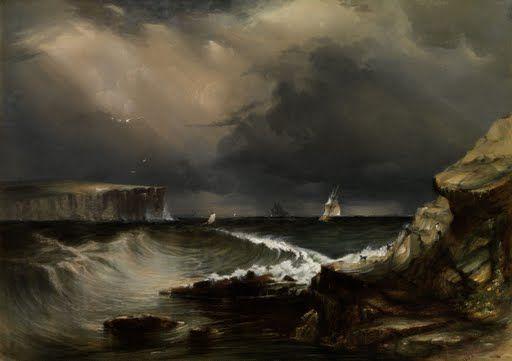 View of the Heads, Port Jackson Conrad Martens1853