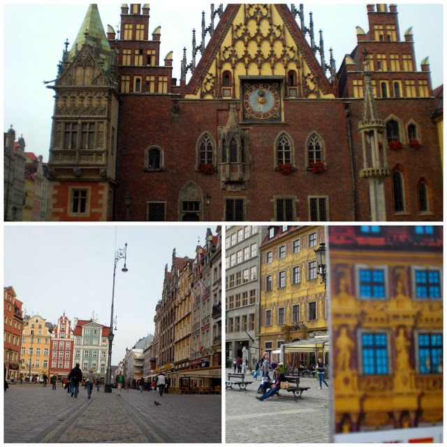 Town hall #rynek of #Wroclaw in #Poland