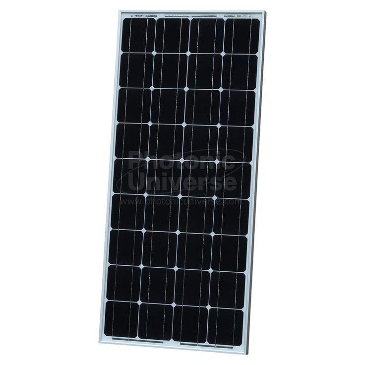 100W solar panel 5m cable for 12V battery motorhome camper caravan boat 100 watt