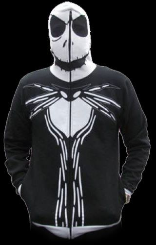 Nightmare Before Christmas - Jack Mask Hoodie from http://www.catacombscds.com/product/Nightmare_Before_Christmas_-_Jack_Mask_Hoodie.html