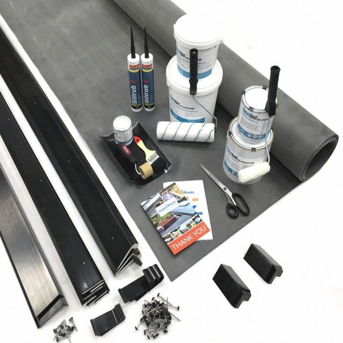 Flat EPDM Rubber Roof Kits From Trusted Suppliers Of Rubber Roofing  Materials To The Trade And DIY.