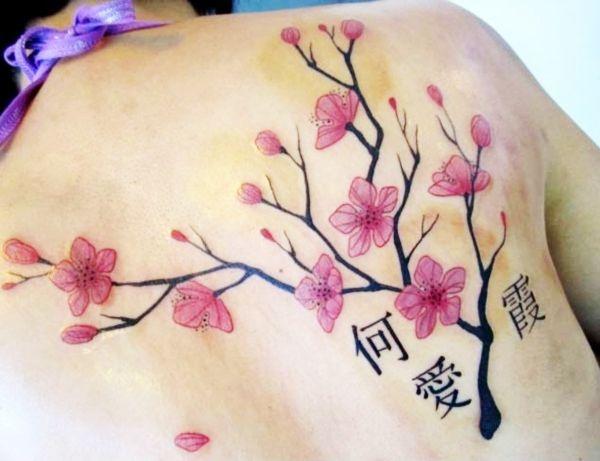 50 Japanese Cherry Blossom Tattoos You Should Get This Spring Cherry Blossom Tattoo Meaning Cherry Blossom Tattoo Tattoos With Meaning