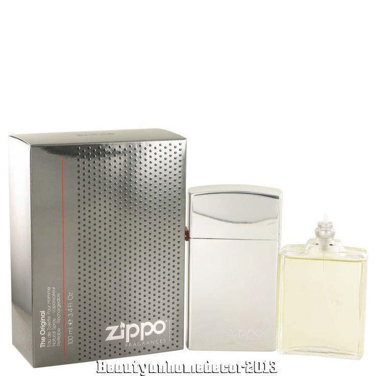 Zippo Original by Zippo 3.4 oz / 100 ml EDT Spray Refillable for Men New in Box #Zippo
