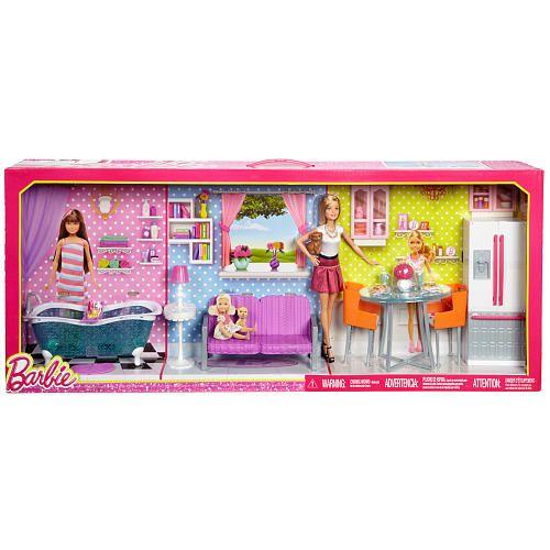 Barbie Doll Furniture Giftset Mattel Girls Toys R Us