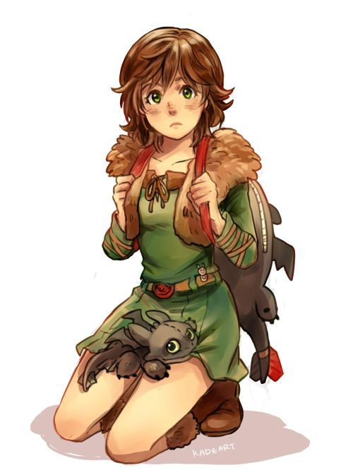 Fem!Hiccup <-- Can this be Hiccups daughter or something because she would do crazy things and then Hiccup would understand his father a bit better.
