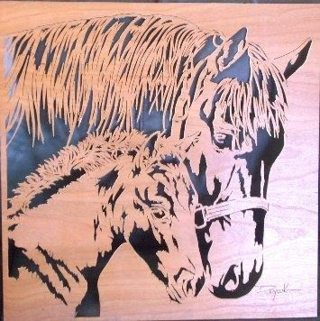 .....and some more of my scroll saw work