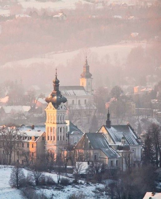 Tuchow, Poland in Winter
