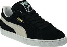 PUMA Suede Classic Eco - Black/White - Free Shipping & Return Shipping - Shoebuy.com