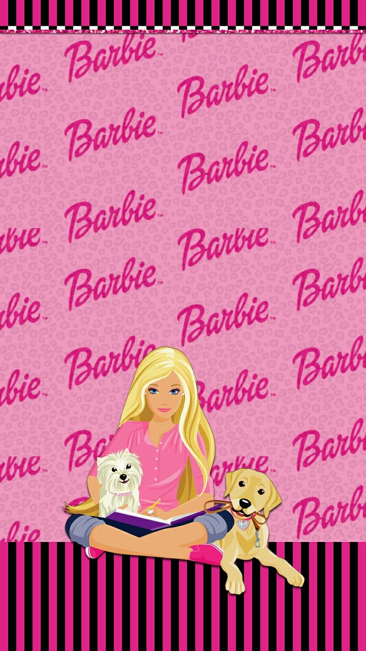 Barbie girly wallpaper Pinterest Barbie