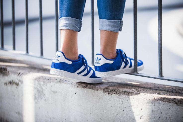 gazelle blu scarpe adidas