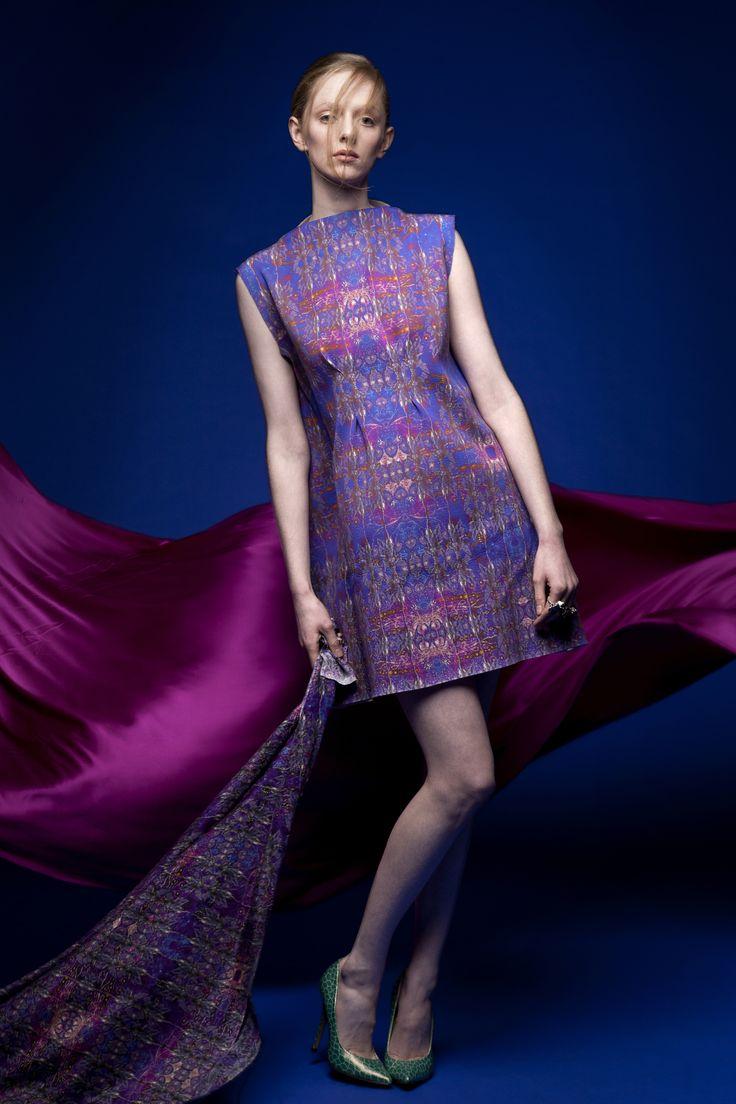 Irish Fairy Inspiration  Scuba dress with Fairy print
