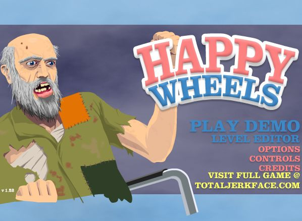 Happy Wheels is a bloody physics-based vehicle game. The only goal of this game is to reach the exit. You can play happy wheels in demo version for free. The best flash game ever. #Happy #Wheels #Demo