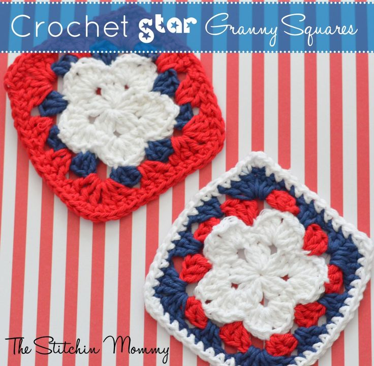 Crochet Star Granny Square ~ The Stitchin� Mommy