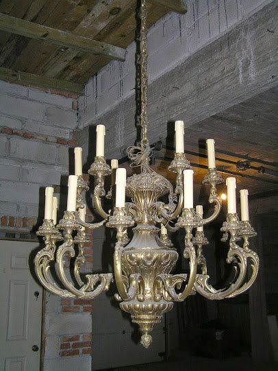 Great baroque hand made chandelier not finished by Kostylolondon