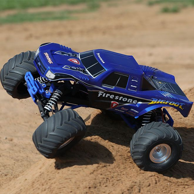 Merveilleux Traxxas® Bigfoot® Monster Truck RTR. Crush Every Obstacle With The Licensed  1/