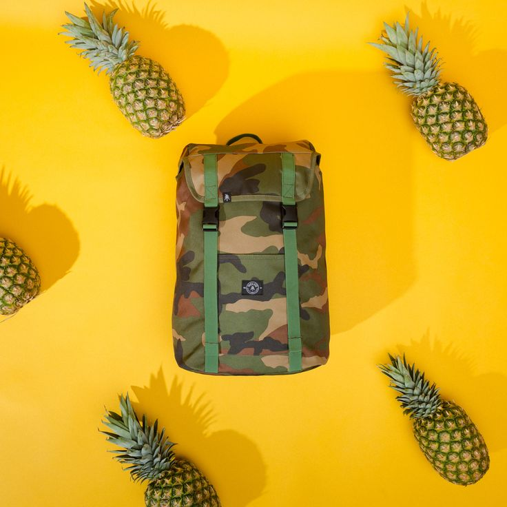 You're the pineapple of my eye. Parkland Westport Backpack in Classic Camo from the Fall 2017 Collection.