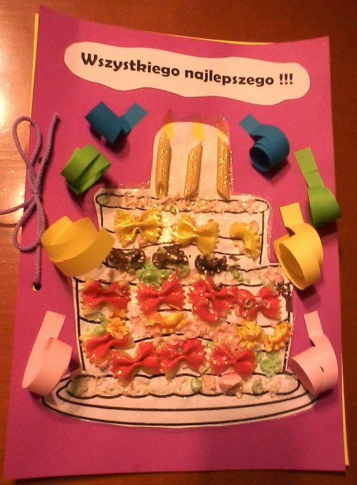 Boberkowy World : Wyjątkowa kartka urodzinowa