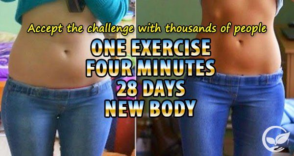 New Sexy Body By Completing This 28-Days, 1 Exercise Challenge