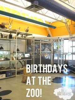 Birthday Parties at the Calgary Zoo