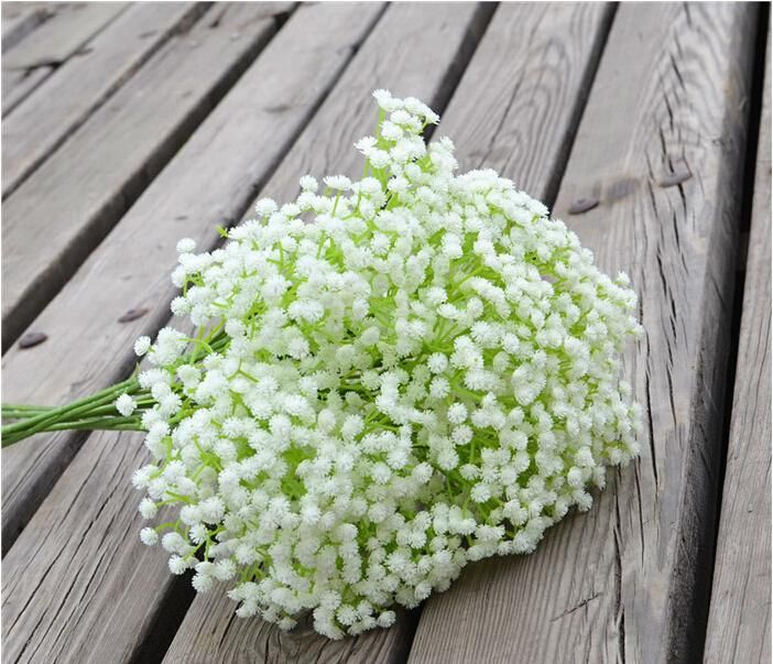 Schönen Gypsophila Baby Atem Künstliche Gefälschte Seide Blumen Pflanze Home Hochzeit Party Dekoration 100er Dhl
