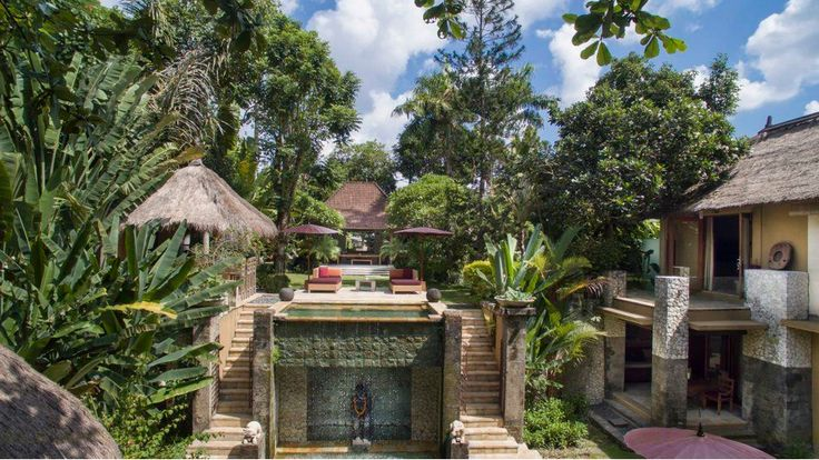 Villa Red Palms | 3 bedrooms | Umalas, Bali #swimmingpool #garden #villa #Bali #exterior