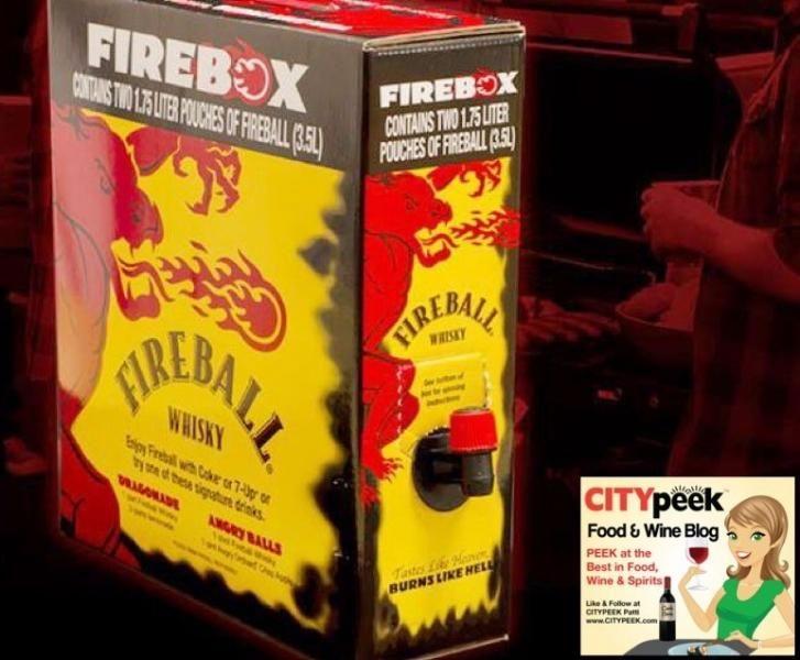 Fireball Whisky in a box- the new BotoBox is Firebox | CITYPEEK Food, Wine, Luxury