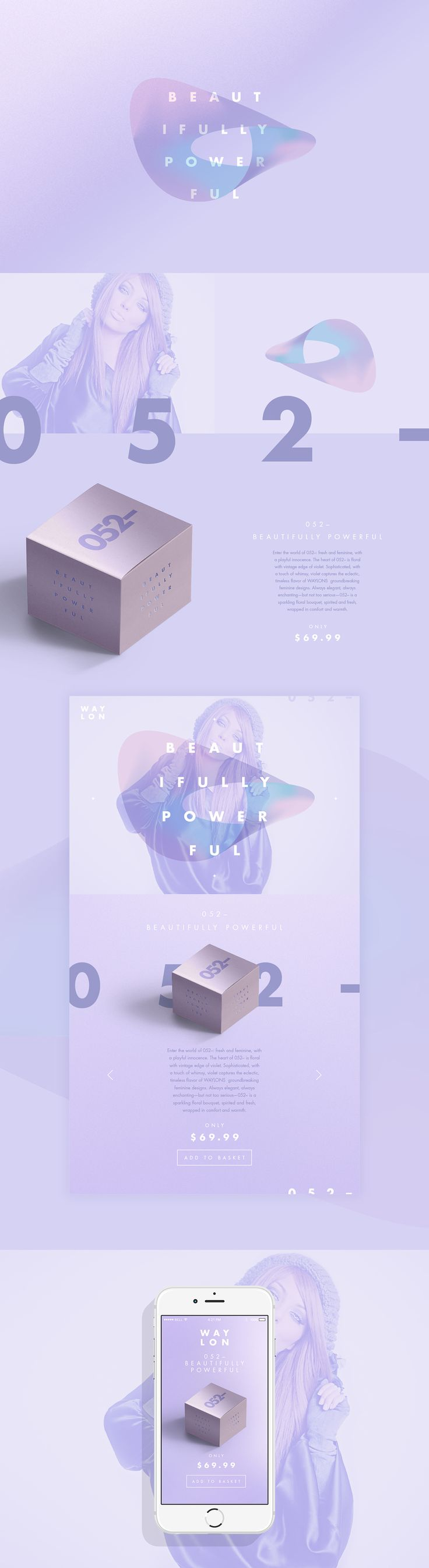 WAYLON // Beautiful In Every Way on Web Design Served