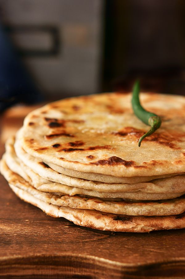 Indian Flat Bread - Kulcha