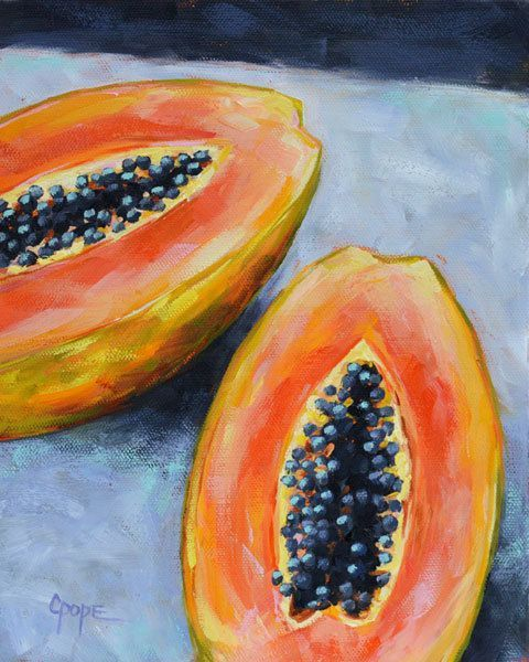 Image result for tropical fruits coursework book art