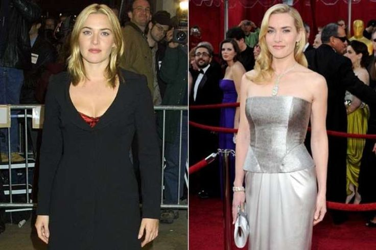 KATE WINSLET   #FAMOSAS #TRANSFORMACION #BIGSIZE #SMALLSIZE #BEFORE #NOW #THEN #NOW #GORDAS  #FLACAS