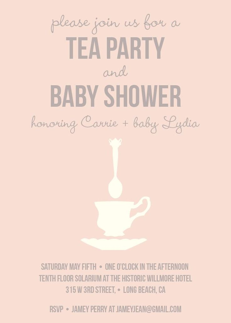 75 Best Tea Party Baby Shower Images By Baby Shower Favor