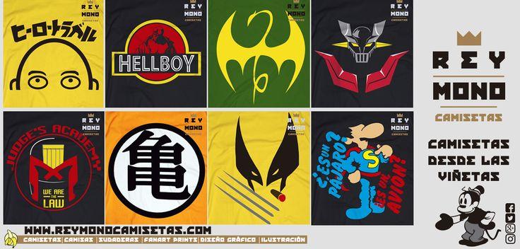 Sólo Pienso En Camisetas: 8 camisetas de cómic y 1 sudadera que te van a fli...