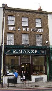 jellied eels and pie shop