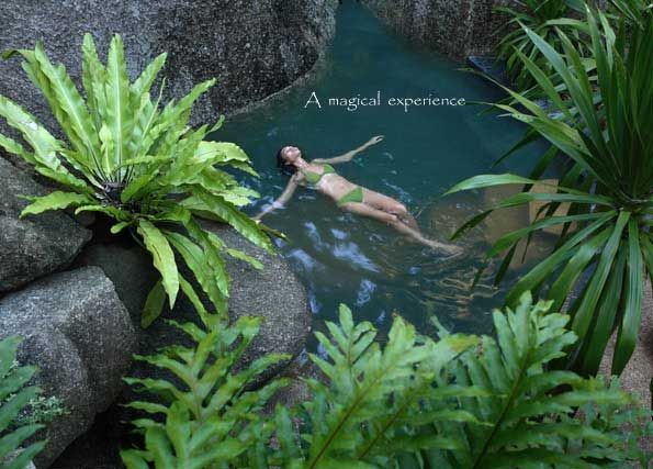 Rock forest pools at Tamarind Springs: Forests Spa, Rocks Forests, Spring Spa, Koh Samui Thailand, Tamarind Spa, Forests Pools, Spa Thailand, Tamarind Spring, Samui Spa