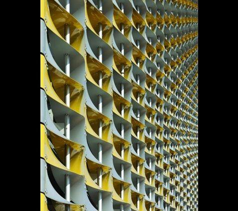 Addenbrooke's Multi Storey Car Park, Cambridge by Allies and Morrison & Devereux Architects
