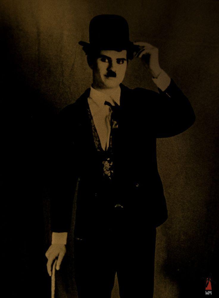 "A stylized version of Charlie Chaplin / Stailaamani ""Charlie Chaplin"""