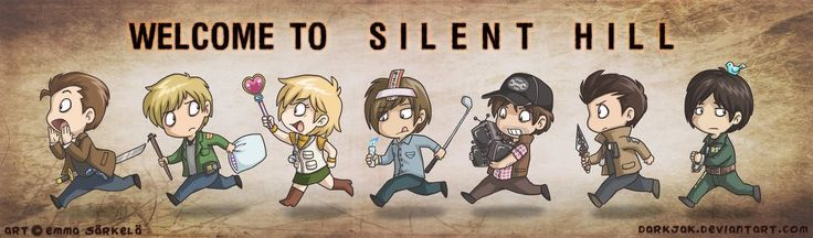 Looks like all the Silent Hill protagonists are on their way back into town! Shout out to Emma S. for creating this awesome artwork.