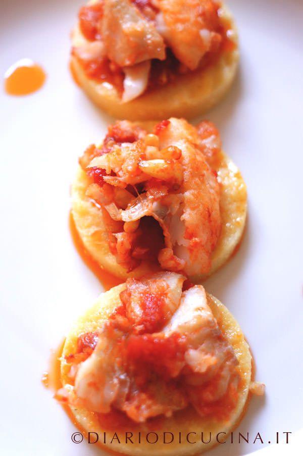 Merluzzo in Umido e Polenta - Diario di Cucina. Expat-Mamma in Francia