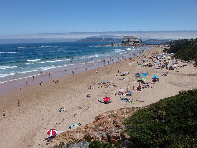 South Africa is also famous for it's natural attractions such as it's beaches that are located in different parts if the country and are a highly popular attraction too tourists.