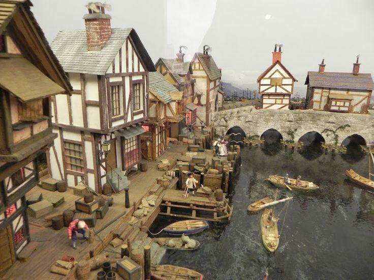 Miniature World in Victoria BC  the quay side