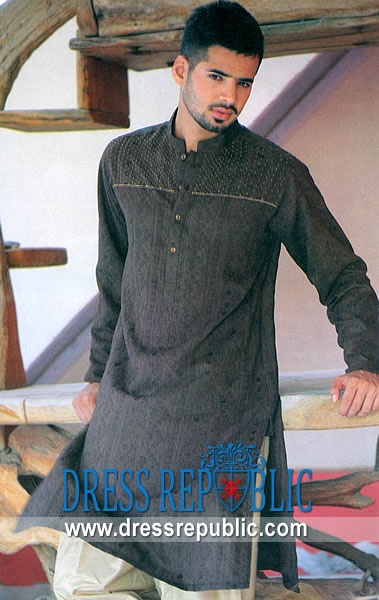 Style DRM1347, Product code: DRM1347, by www.dressrepublic.com - Keywords: Shalwar Kameez for Men in Tarboro, Waltham, Dallas, New York, Miami Salwar Kameez Shops in USA