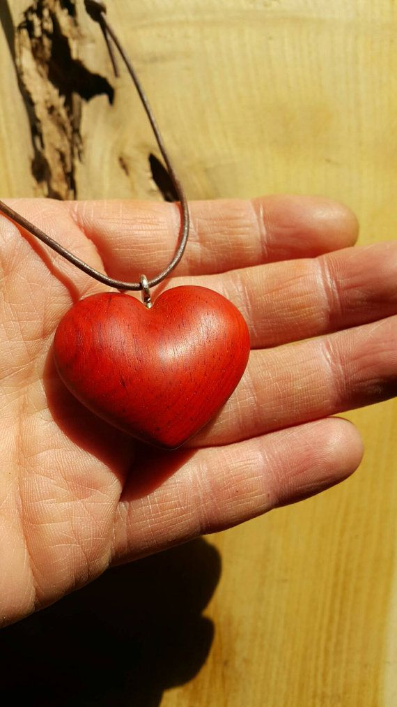 Check out this item in my Etsy shop https://www.etsy.com/listing/505818317/heart-necklacewooden-heart-necklacewood