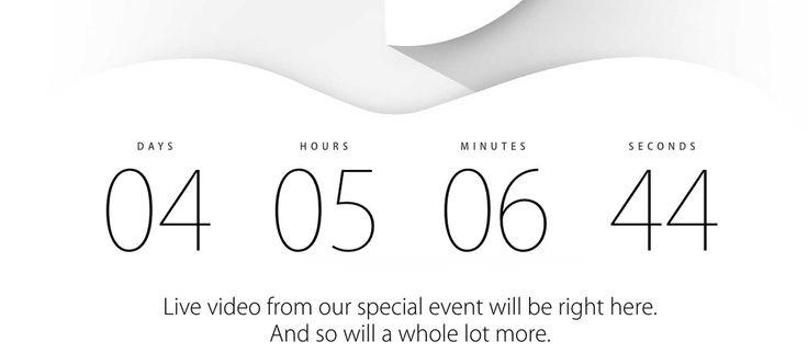 ¿Qué se espera de Apple el 9 de septiembre?