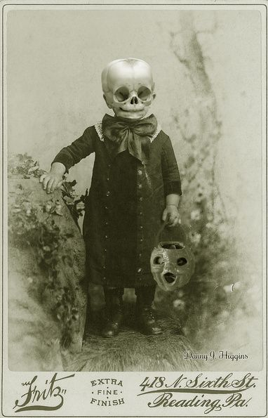 Creepy Victorian photo (altered.)