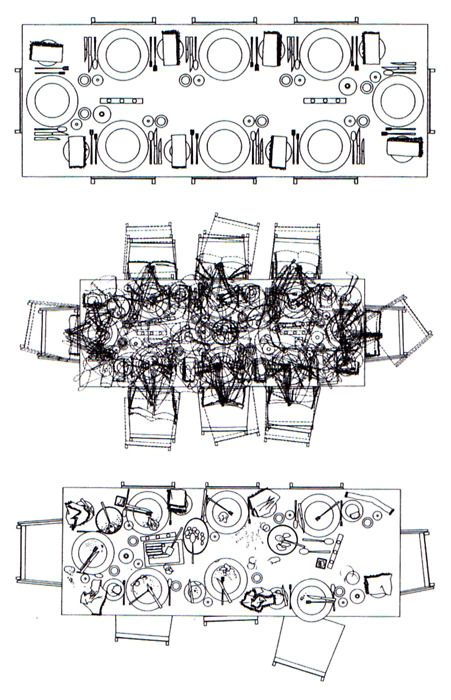 Sarah Wigglesworth and Jeremy Till - Increasing Disorder In A Dining Table