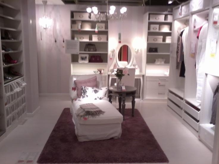 Love This Walk In Closet Design Ikea Walk In Closets Pinterest Closet Designs Love