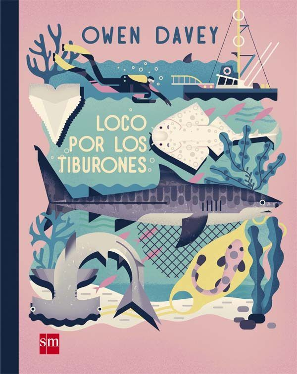 loco por los tiburones-owen davey-9788467590746