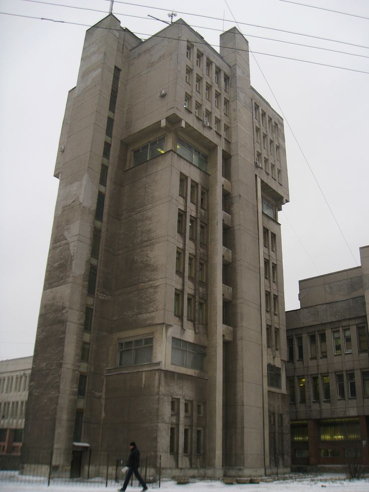 Leningrad | Pearl Of Soviet Industrial Architecture #socialist #brutalism #architecture