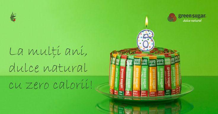 """Asa cum ati citit deja in titlu, cantam """"La multi ani!"""" zaharului cu 0 calorii Green Sugar! Iar aceasta minunata"""